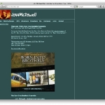 Composer John McDowell\'s old site