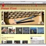 Composer Peter Flint\'s new site